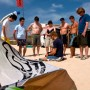 DAY 1: Group lesson of the kitesurfing theory in Flagbeach Watersports Center
