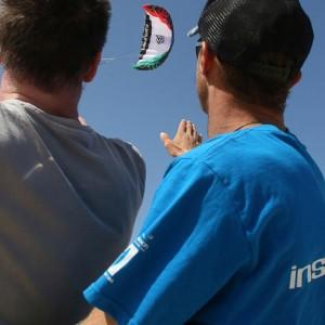 Kitesurfing at Flag Beach, Action Watersports