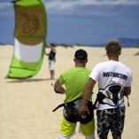 Kitesurfing at Flag Beach, Action Watersports