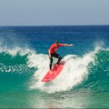 """Surfing on a green wave is a second step after mastering """"white waves"""" surfing"""